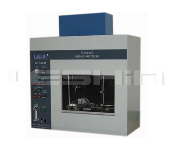 Needle Flame Testing  Instrument